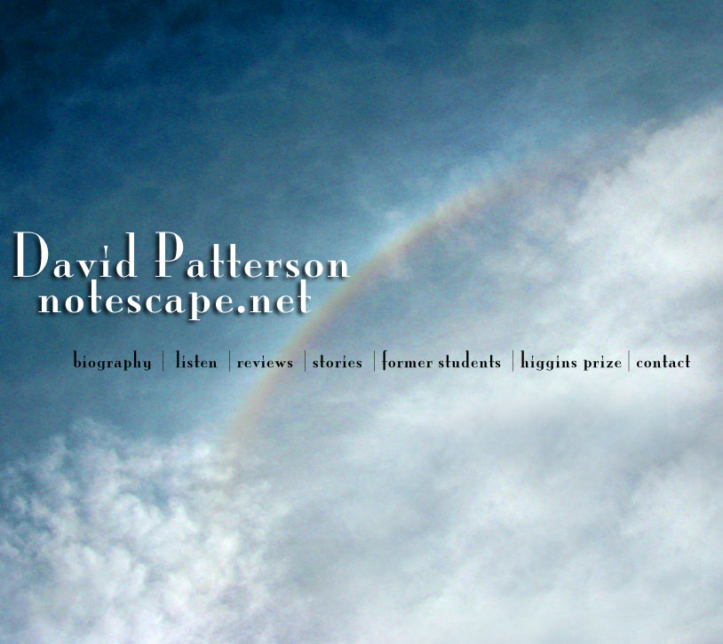 David Patterson Notescape.net